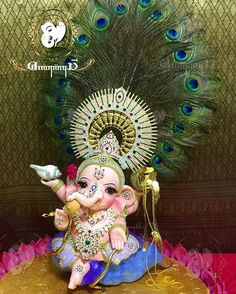 Ganpati Bappa So Very Cute