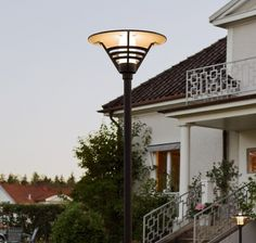 European and Scandi-style lamp post for commercial or residential lighting. Available in three variations with or without pole for installation. Residential Lighting, Scandi Style, European Fashion, Montage, Aluminium, Gemini, Handmade, Garden, Products
