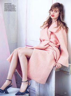 visual optimism; fashion editorials, shows, campaigns & more!: blush hour: julia frauche by sebastian kim for allure october 2013