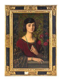 Robert J. Swan, (British, 1888-1980), The Amulet