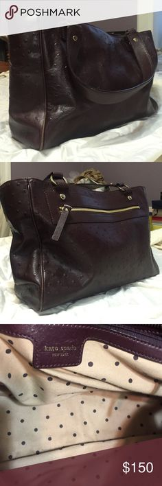 70ff9b0b8b Brown Kate Spade purse. Amazing brown, Kate Spade purse. Great used  condition.
