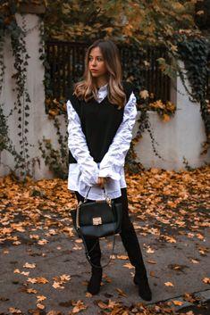 Pullunder – der ärmellose Pullover wird in diesem Herbst