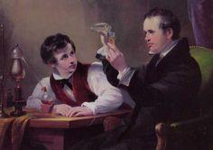 Michael Faraday and Professor Brande Making Russian Blue. The Learning Experience, Fun Learning, Oscar Wilde, Michael Faraday, Teacher Helper, Basic Math, Working People, Math Facts, Teaching Tips