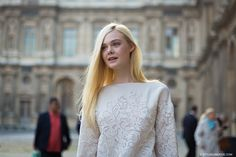 New post on http://www.styledumonde.com/ with #ElleFanning before #LouisVuitton #ss14 #fashionshow at #parisfashionweek ... #style #streetlook #spring14 #streetstyle #streetfashion #model #actress #France #styledumonde #pfwss14 #pfw #paris #american #picoftheday #weloveit #bestoftheday #outfit #fashion #look #white #whitetop #instaphoto #follow #whitetop