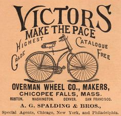 Vintage Clip Art - Old Fashioned Bicycle - The Graphics Fairy
