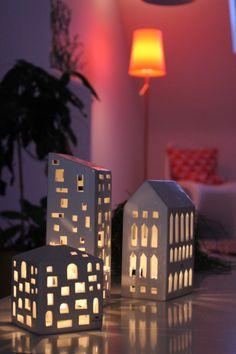 Kähler lyshus, urbania, dansk keramik, light house