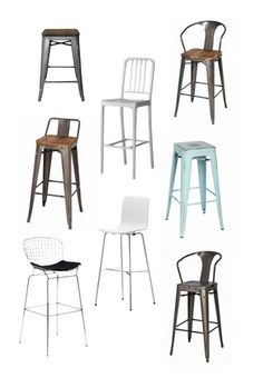 Affordable, Modern Barstools - The first house - Barstools edition
