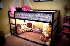 Amazing and adorable solutions for kids bunk beds! Love the last one in the article! … jw Amazing and adorable solutions for kids bunk beds! My New Room, My Room, Girls Bedroom, Bedroom Decor, Bedroom Furniture, Dream Bedroom, Bedroom Bed, Kids Bedroom Ideas For Girls, Pvc Furniture