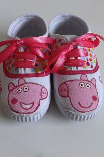 FIELTRO FEVER: Zapatillas Peppa Pig