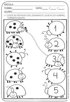 1 million+ Stunning Free Images to Use Anywhere Printable Preschool Worksheets, Kindergarten Math Worksheets, Kindergarten Lessons, Preschool Writing, Numbers Preschool, Preschool Learning Activities, Math For Kids, Kids Education, Free Images