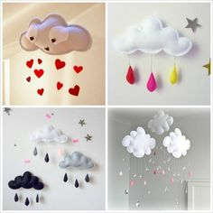 Great Cloud DIYs to Try in Baby's Nursery