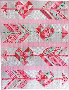 Cupid's Arrow Quilt Pattern