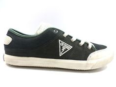 #Guess #sneakers #verde #tessuto #camoscio #uomo #zooode
