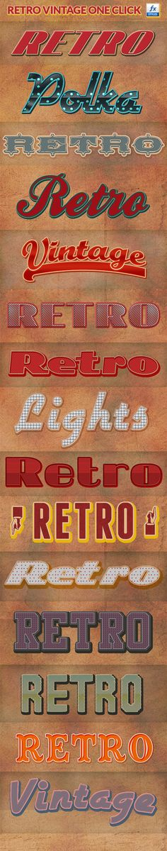 Retro Vintage Photoshop Layer Styles • Click here to download ! http://graphicriver.net/item/retro-vintage-photoshop-layer-styles/530873?s_rank=261&ref=pxcr