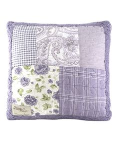 Look what I found on #zulily! Lavender Rose Throw Pillow #zulilyfinds