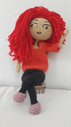 1 Amigurumi Baby Doll, Gift for her, Christmas Gift, Healthy Toys,