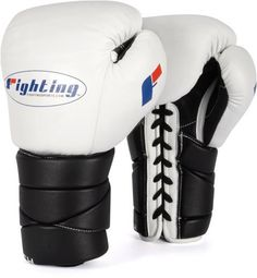 Fighting Sports Tri-Tech Lace Training Gloves, White/Black, 12-Ounce by Fighting Sports. $99.00. The new phenomenon in training gloves with exclusive Tri-Tech® design and incorporation. A trio of precision placed inner foams - K-329 Sponge Comfort Foam, BL05S High Density Impact Absorbing Foam and S-2 Latex Low Density Protection Foam - creates the most comfortable, awe-inspiring, protective and powerful training gloves in the world. The unsurpassed comfort, coverage ...