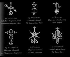"""Thomas Karlsson - The Qliphothic Tunnels, """"Qabalah, Qliphoth and Goetic Magic"""", 2009. Twenty-two tunnels, dark counterparts of the twenty-two tunnels on the Sephiroth, pass between the ten Qliphothic worlds. The tunnels have been known under..."""