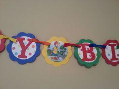 Caillou Happy Birthday Banner Caillou Banner Caillou