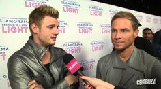 Brian Littrell and Nick Carter interviewed for Celebuzz