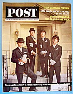 August 8-15, 1964 Saturday Evening Post - The Beatles