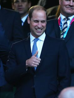 Royal Family Around the World: British Royal Attends the Rugby World Cup 2015 - Opening Ceremony at Twickenham Stadium on September 18, 2015 in London, England.
