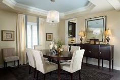 cream dining rooms - Google Search