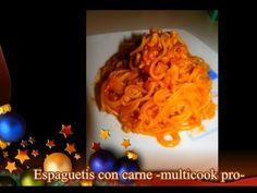 Espaguetis con carne -multicook pro