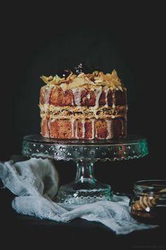 Baklava Cake. This is such a brilliant twist.