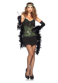 Adult sexy flapper costumes are a great choice for your next party. Get these sexy flapper costume for a great price this Halloween. Carrie Halloween Costume, Sexy Halloween Costumes, Girl Costumes, Costumes For Women, Blouse Dress, Dress Up, Dress Clothes, Leg Avenue, Costume Ideas
