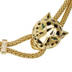 Cartier's panther necklace