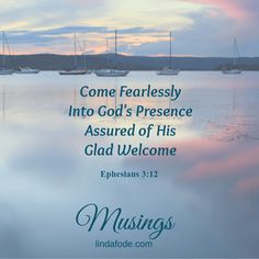 Finding Welcome In God's Presence