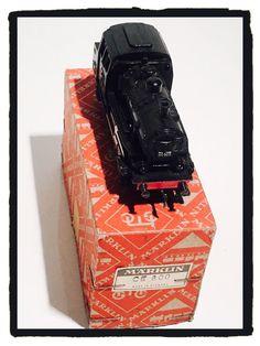 MÄRKLIN Vintage LOCOMOTIVA 3028 Prima Serie 1957 CE 800 Marklin con Scatola | eBay