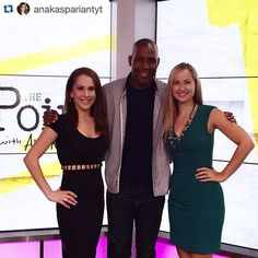 #Repost @anakaspariantyt  Im so stoked to have @karamobrown back on The Point this week! And we had a new fun guest too! Alex Wehrley is amazing!