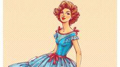 Tutorial de Illustrator: Criando uma ilustração no estilo anos 50
