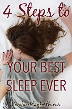A good night's sleep is so important to our health. Unfortunately, most of us carry our overwhelmed minds to bed with us. Check out these 4 easy steps to finally get the sleep you need! Insomnia Causes, Food For Digestion, Natural Sleep, Spiritual Health, Mind Body Soul, Good Sleep, Christian Women, Light Recipes, Sleep