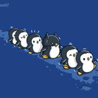 Not the penguin t-shirt Penguin Drawing, Penguin Art, Penguin Love, Cute Penguins, Penguin Nursery, Penguin T Shirt, Day Of The Shirt, Batman, Chibi