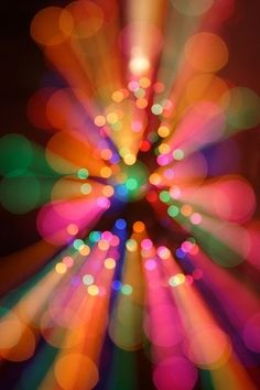 Bokeh Colors Lights Effect IPhone Wallpaper Mobile Wallpaper Taste The Rainbow, Over The Rainbow, Bokeh Photography, Color Photography, World Of Color, Color Of Life, Rainbow Colors, Vibrant Colors, Rainbow Stuff