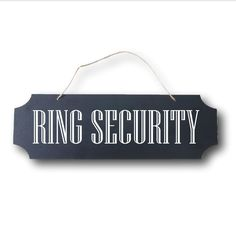 Wedding Sign - Ring Security - Double-Sided Ring Bearer Sign - Don't Worry Ladies, I'm Still Single!