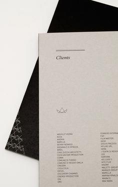 Kalimera Company Profile / 2010 by Kalimera , via Behance