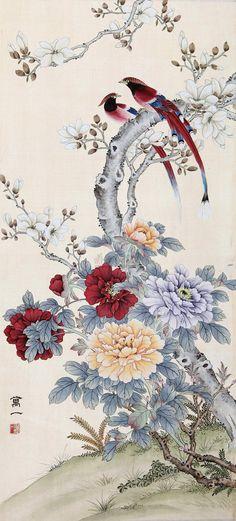 Восточная живопись.Цветы, птицы.. Обсуждение на LiveInternet - Российский Сервис Онлайн-Дневников