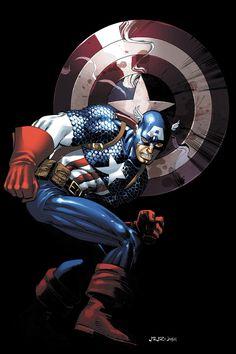 Captain America by John Romita Jr. and Klaus Janson