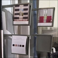 Swing-Arm Window Treatment Fixtures For Retail – Fixtures Close Up Blackout Panels, Retail Fixtures, Window Treatments, Arm, Windows, Storage, Home Decor, Homemade Home Decor, Arms