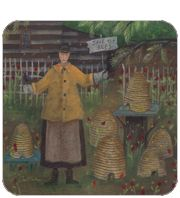 Bee Lady ~ Carol Endres ~ Folk Art