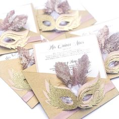 by IssyPaperStudio Masquerade Party Centerpieces, Masquerade Cakes, Masquerade Party Invitations, Masquerade Ball Party, Sweet 16 Masquerade, Masquerade Theme, Masquerade Wedding, Wedding Centerpieces, Graduation Centerpiece