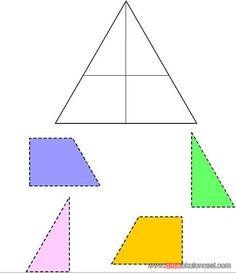 geometrik sekil+renk kavramı kes yapıştır