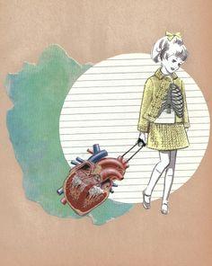 anatomical heart   baggage