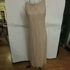 I just added this to my closet on Poshmark: Another Thyme VINTAGE champagne gold flapper dress. Price: $40 Size: See Description