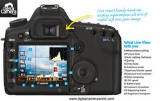 What is Live View telling you: free #photography cheat sheet. Find out what all those icons and symbols on the back of your camera actually mean.