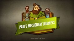 Paul's Missionary Journeys Kids Bible Lesson: The exciting Bible story of Paul's missionary journeys. After meeting Jesus on the road to Damascus the Apostle Paul devoted his life to preaching the Gospel. This mission lead Paul around the world on a host of exciting adventures, hardships and triumphs as recorded in the book of Acts. This lesson is packed with resources like Q&A, memory verse and more.